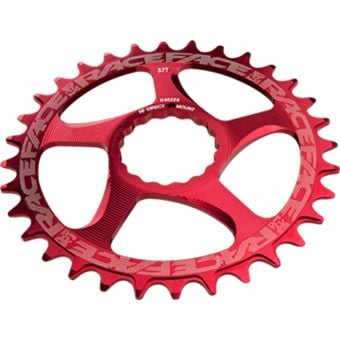 Race Face Narrow Wide Cinch Direct Mount Chainring Red 32T