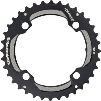 Race Face Turbine 104BCD 11 Speed 2x Chainring Black 38T