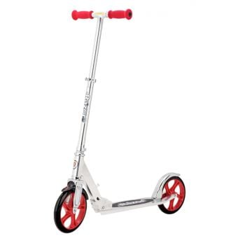 Razor A5 Lux Kick Scooter Silver/Red