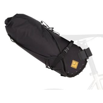 Restrap 14L Dry Bag with Large Saddle Bag Black
