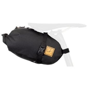 Restrap 4.5L Dry Bag with Small Saddle Bag Black