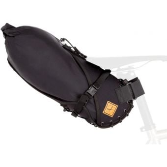 Restrap 8L Dry Bag with Small Saddle Bag Black