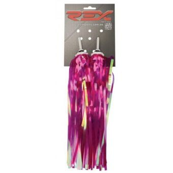 Rex Handlebar Streamers Neon Pink