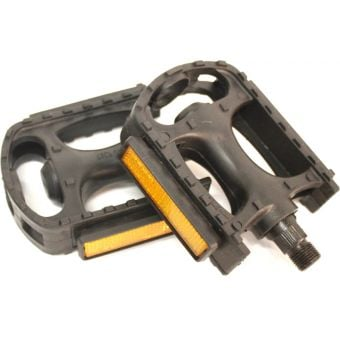 "Rex Plastic SP872-N 1/2"" MTB Pedals Black"