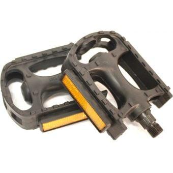 "Rex Plastic SP872-N 9/16"" MTB Pedals Black"