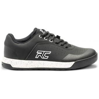 Ride Concepts Hellion Elite Womens Flat MTB Shoes Black/White