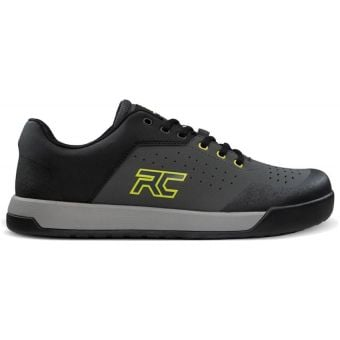 Ride Concepts Hellion Flat Pedal MTB Shoes Charcoal/Lime