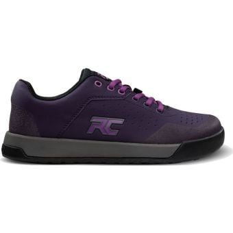 Ride Concepts Hellion Womens Flat MTB Shoes Dark Purple/Purple