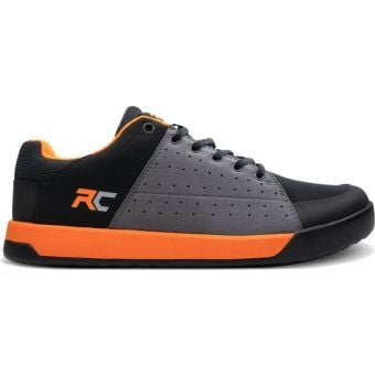 Ride Concepts Livewire Flat Pedal MTB Shoes Charcoal/Orange