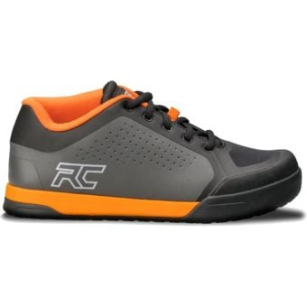 Ride Concepts Powerline Flat Pedal MTB Shoes Charcoal/Orange