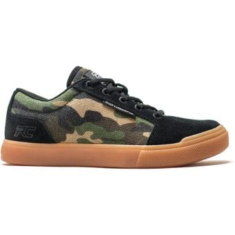 Ride Concepts Vice Youth Flat Pedal MTB Shoes Camo/Black