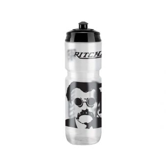 """Ritchey """"A drink with Tom"""" Water Bottle 800ml Black/Clear"""