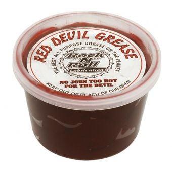 """Rock """"N"""" Roll Red Devil Grease 16oz Tub"""