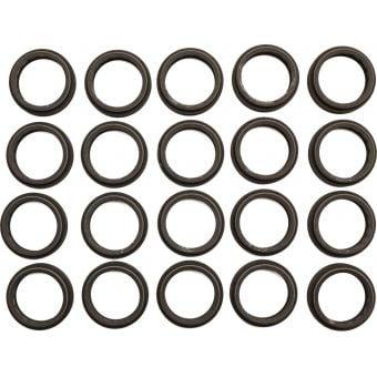 RockShox 38mm Fork Dust Wipers Black (20 Pack)
