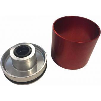 RockShox ZEB DebonAir C1 38mm Silver Seal Head/Foot Nut Upgrade Kit