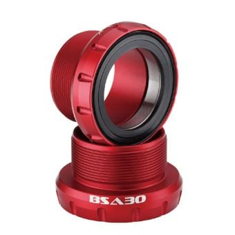 Rotor BSA30 68-73mm Ceramic Bottom Bracket Red