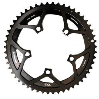 Rotor noQ BCD110x5 50T Outer Chainring BLACK