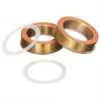 Rotor PressFit 4130 Ceramic Bottom Bracket Gold