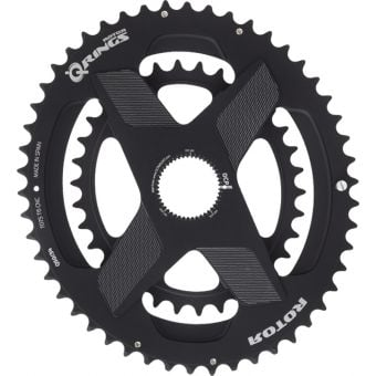 Rotor Q Rings 52/36T Direct OCP Mount Oval Chainrings