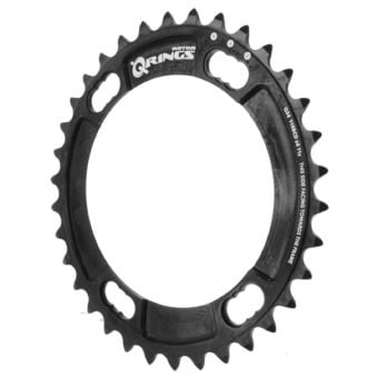 Rotor Q-Rings BCD110x4 38T Inner Chainring (Shimano) Black