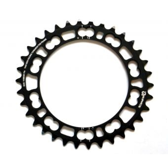 Rotor Q-Rings BCD110x5 34T Inner Chainring Black