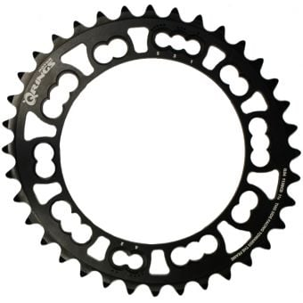 Rotor Q-Rings BCD110x5 36T Campagnolo Inner Oval Chainring Black