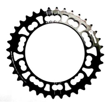 Rotor Q-Rings BCD110x5 36T Inner Chainring Black