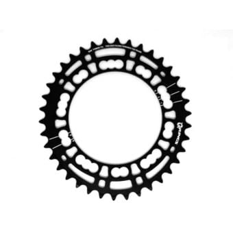Rotor Q-Rings BCD110x5 38T Inner Chainring Black