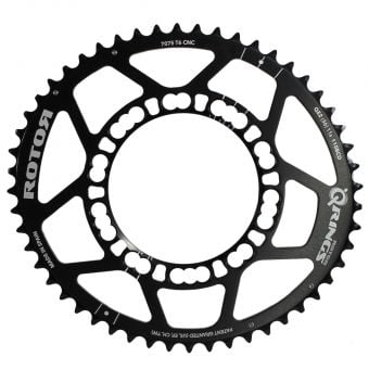 Rotor Q-Rings BCD110x5 52T Outer Chainring Black