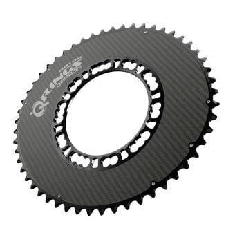 Rotor Q-Rings QARBON BCD110x5 53T Chainring Black