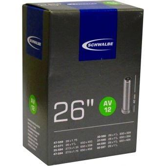 """Schwalbe 40mm Schrader 26 X 1.75 -1 5/8"""" 140g Tube"""