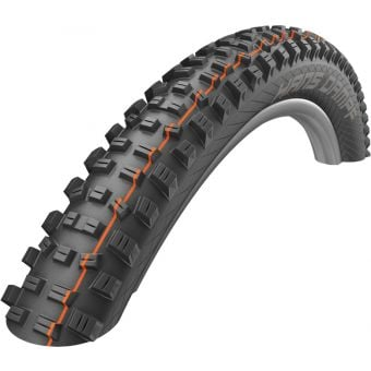 "Schwalbe Hans Dampf 27.5x2.6"" Super Trail TLE MTB Folding Tyre Black"