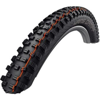 "Schwalbe Hans Dampf HS491 27.5x2.35"" Addix Soft SuperGravity Tubeless-Easy Folding Tyre"