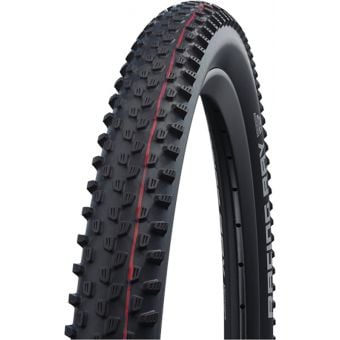"Schwalbe Racing Ray 29x2.10"" Super Ground TLE E-25 MTB Folding Tyre Black"