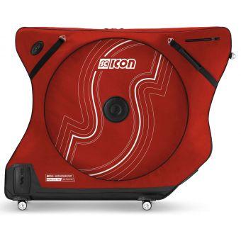 Scicon Aero Comfort 3.0 TSA Road Bicycle Bag Garnet Red