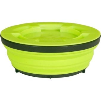 Sea To Summit Large X-Seal & Go Collapsible Container Lime