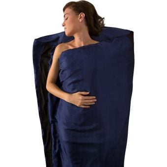 Sea To Summit Mummy Silk Stretch Sleeping Bag Liner Navy