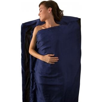Sea To Summit Standard Silk Stretch Sleeping Bag Liner Navy
