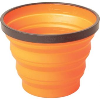 Sea To Summit X-Cup 250mL Collapsible Cup Orange