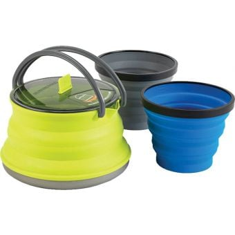 Sea To Summit X-Set #11 Collapsible 1.3L X-Kettle w/ X-Mugs