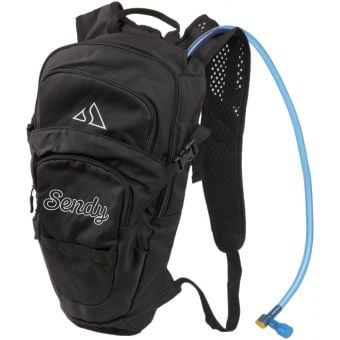 Sendy H2O 2L Hydration Backpack Big Black