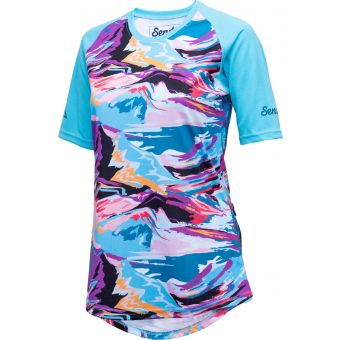 Sendy Send It SS Womens MTB Jersey Wild Mountain