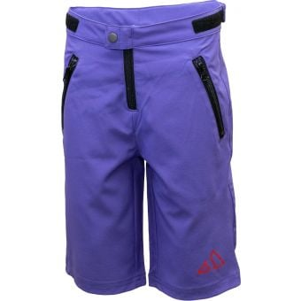 Sendy Send It Youth MTB Shorts The Purp