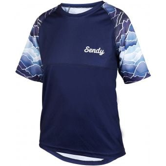 Sendy Send It Youth Short Sleeve MTB Jersey Peaky