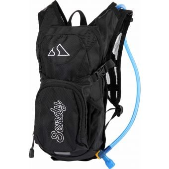 Sendy Youth 1.5L Hydration Backpack Mono Madness Black