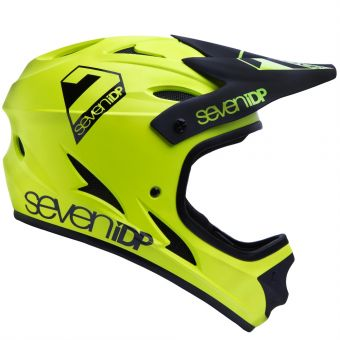 Seven 7iDP M1 Helmet Acid Yellow/Black X-Large
