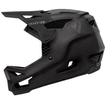 Seven iDP Project 23 Carbon Helmet Raw Carbon/Gloss Grey