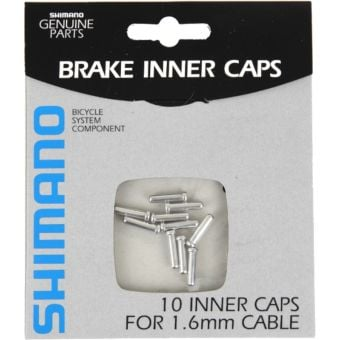 Shimano Workshop 1.6mm Cable End Caps (10 Pack)
