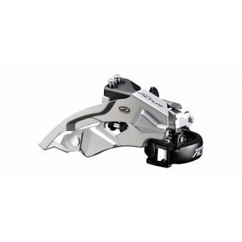 Shimano Altus FD-M370 Low-Clamp 3x9sp 34.9mm Clamp On Front Derailleur Black/Silver