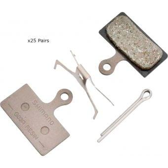 Shimano Workshop BR-M9000 G03A Resin Pad & Spring Set (25 Pairs)